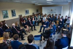 Spotkanie z uczniami II Liceum Ogólnokształcącego w Białymstoku
