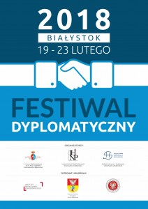 Plakat festiwal dyplomatyczny