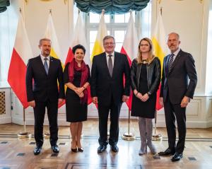 Prezydent Bronisław Komorowski i Białostocki Korpus Konsularny